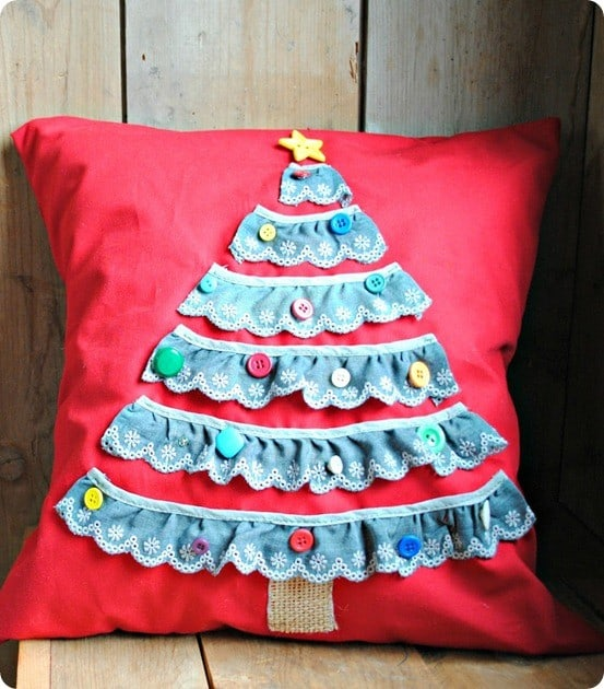Christmas Tree Pillow Knockoffdecor Com