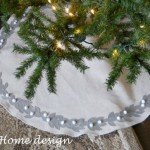 Felt Leaf Tree Skirt