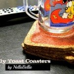 Jelly Toast Coaster