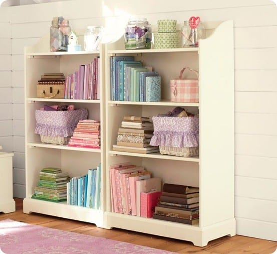 madison large bookcase from pottery barn kids