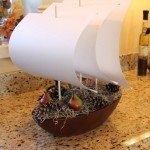 pbk knockoff boat centerpiece