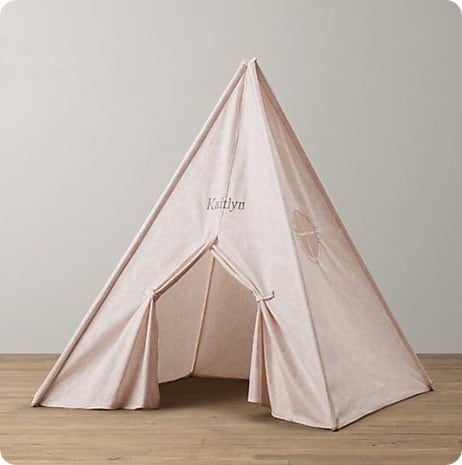 Kids play teepee for How to make a canvas tent