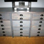 printers style media console