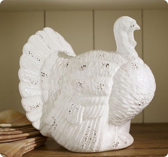 White Ceramic Turkeys Knockoffdecor Com