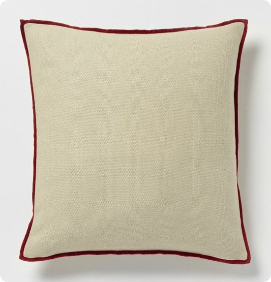 Cotton Velvet Duo Pillow Cover
