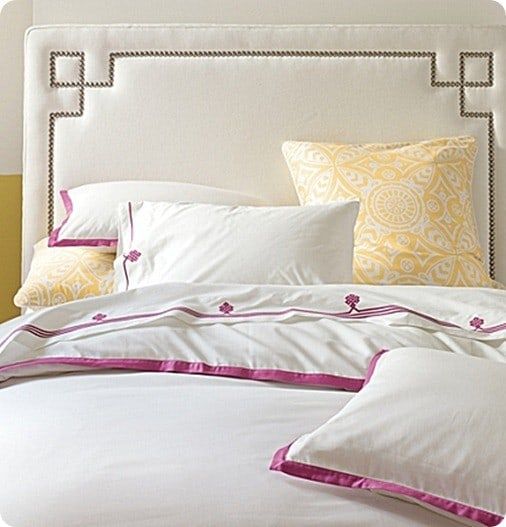 upholstered headboard with nailhead trim headboard designs