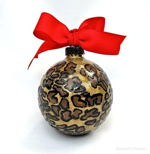 animal print ornament