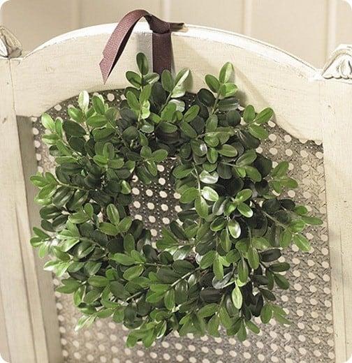 ballard mini boxwood wreaths
