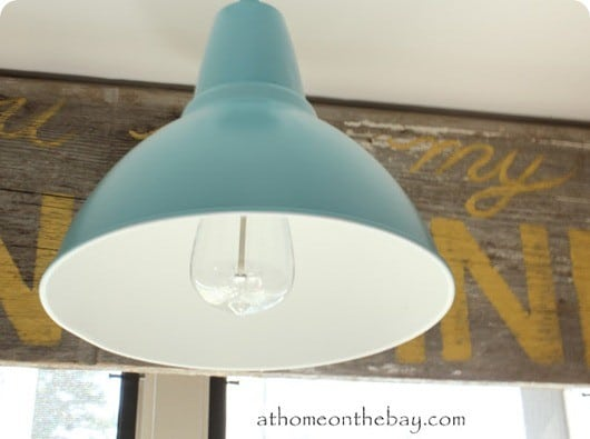 barn light from ikea pendant