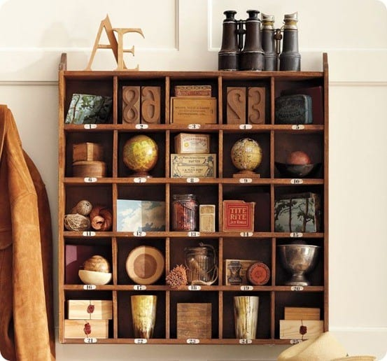 Best of PB #10: Cubby Storage Organizer (and Christmas Advent)