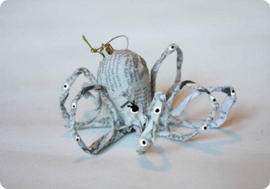 diy octopus ornament