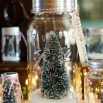 Winter Wonderland Mason Jar Snowglobes