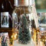 Winter Wonderland Mason Jar Snowglobes