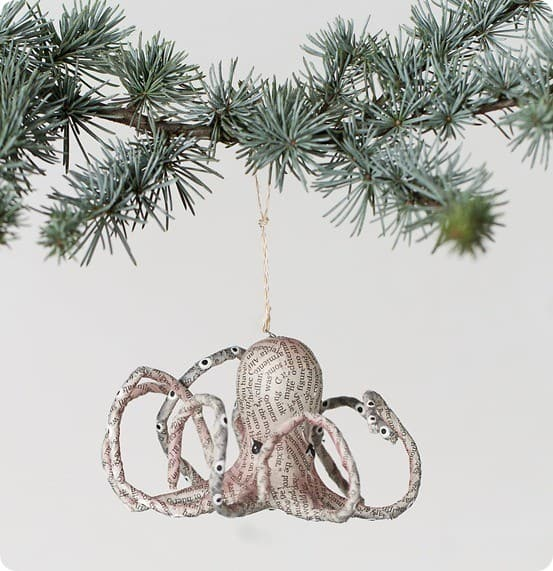 newsworthy octopus ornament