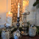 Frosted Birch Candles