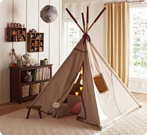 pottery barn kids teepee