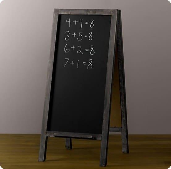 rh chalkboard easel
