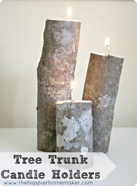tree-trunk-candle-holders