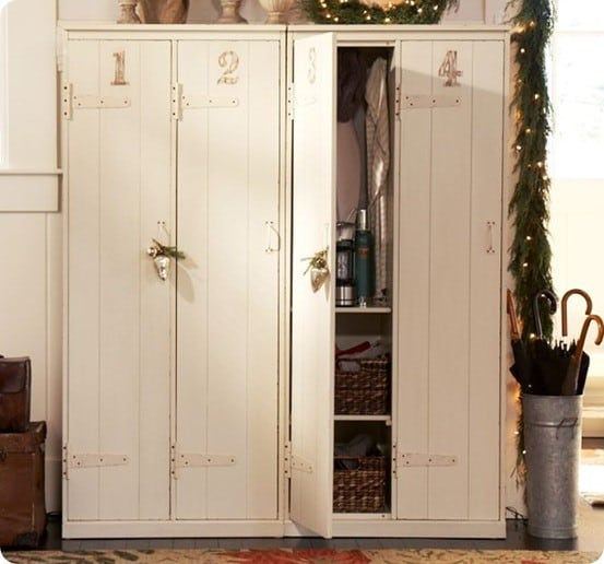 Garage Cubby Lockers
