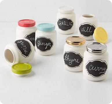 Chalkboard Spice Jar