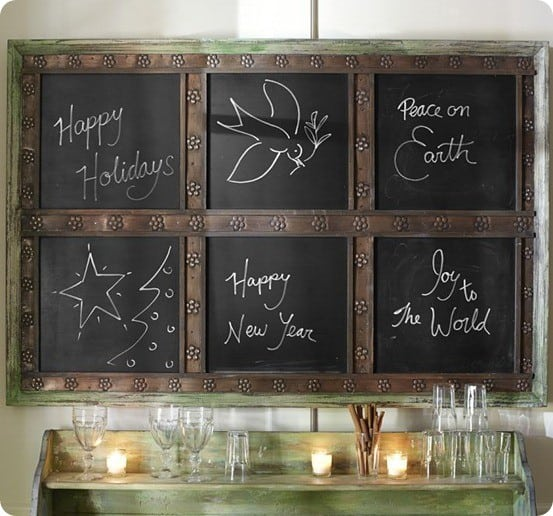 Laidley Wall-Mount Entryway Chalkboard