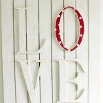 """LOVE"" Wall Plaque"