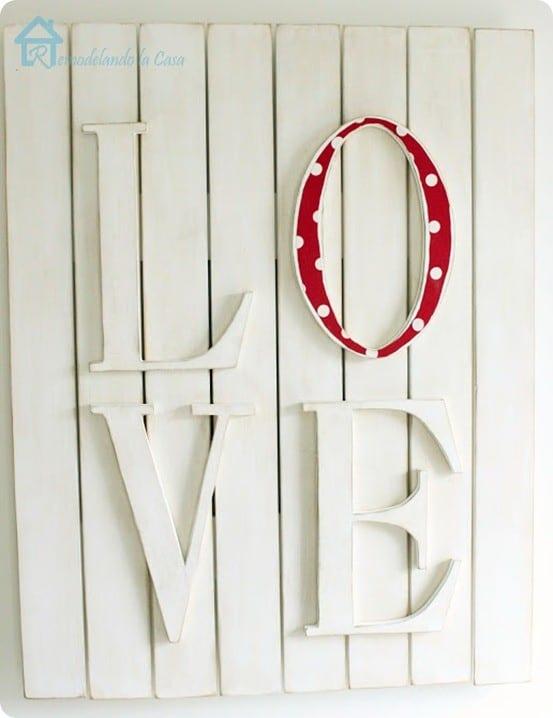 Valentine's Love Plaque1