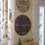 Wine Barrel Wall Décor