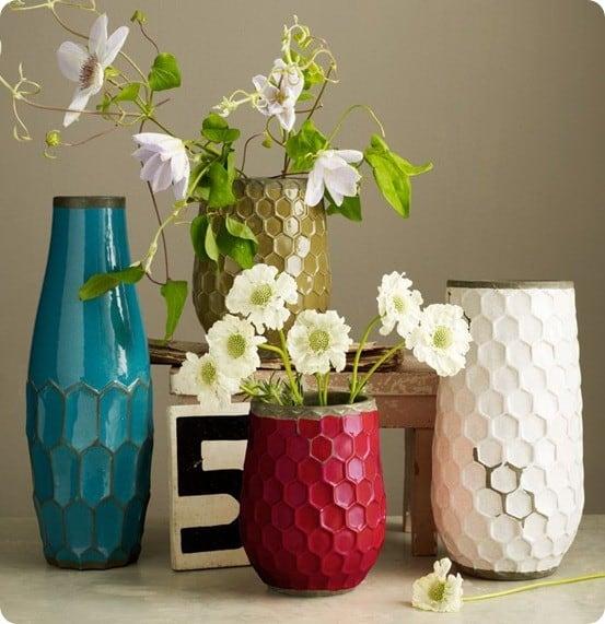 hive vase west elm