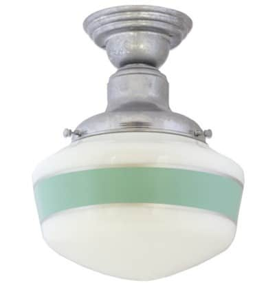 Painted Schoolhouse Light Fixture