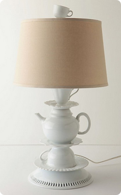 one lump or two lamp base