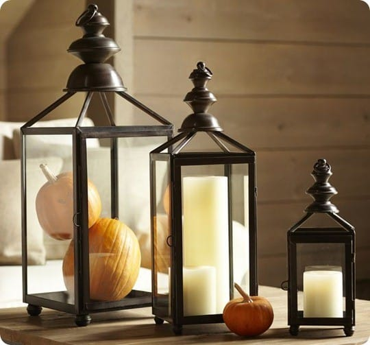 pottery barn weston lantern