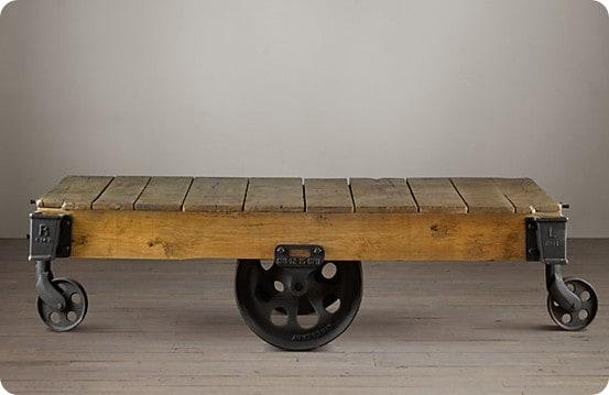 rh furniture factory cart
