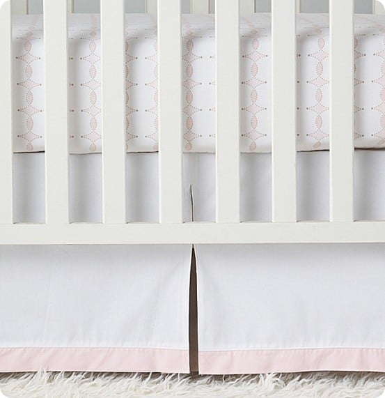 serena and lily collette crib skirt