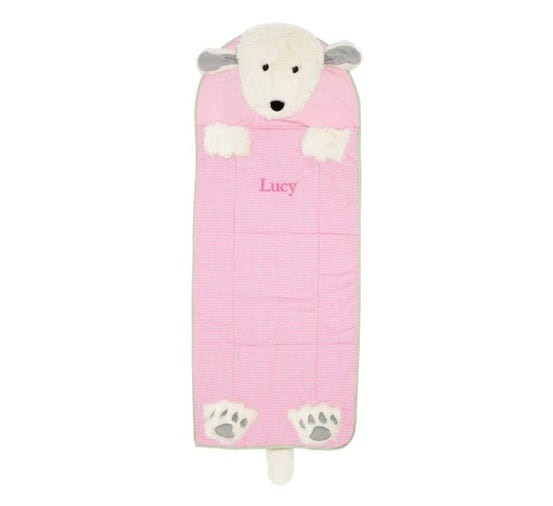 shaggy dog toddler sleeping bag