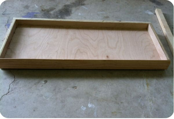 Trundle bed pieces