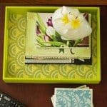 Patterned Wood Tray
