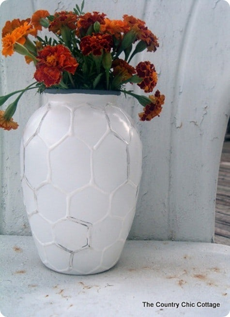 west elm knock off hive vase