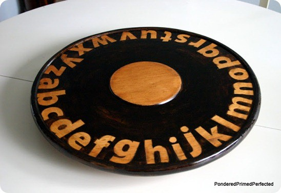 alphabet lazy susan