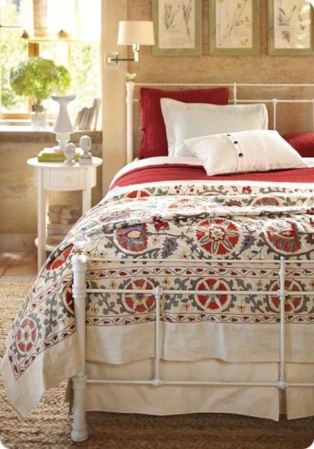 pottery barn pleated bedskirt