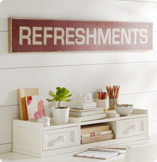 refreshments sign pb teen