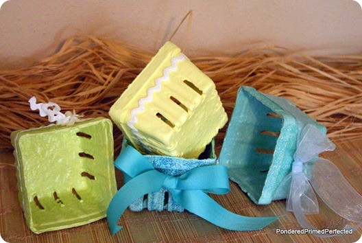 upcycled berry cartons