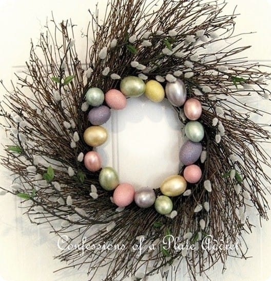 CONFESSIONS OF A PLATE ADDICT Pottery Barn Inspired Spring Wreath Square_thumb[20]