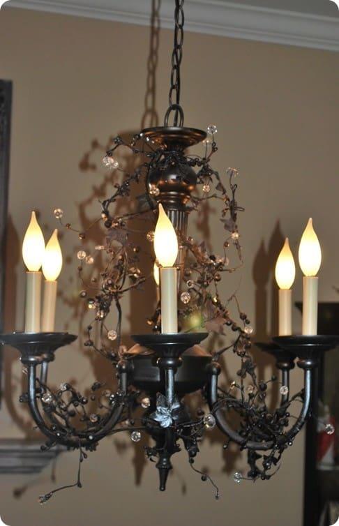 ballard inspired vine chandelier