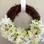 Grapevine and Flower Wreath