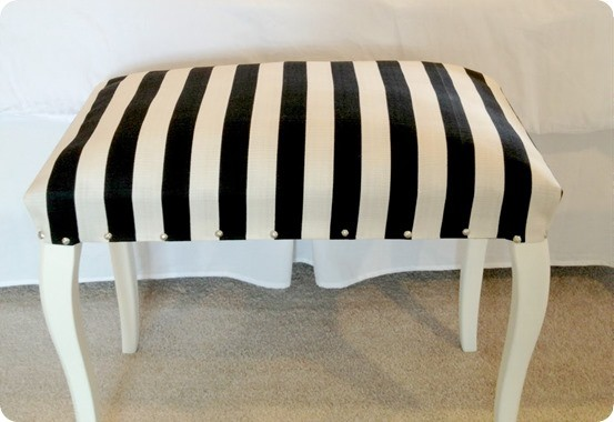 diy upholstered piano bench