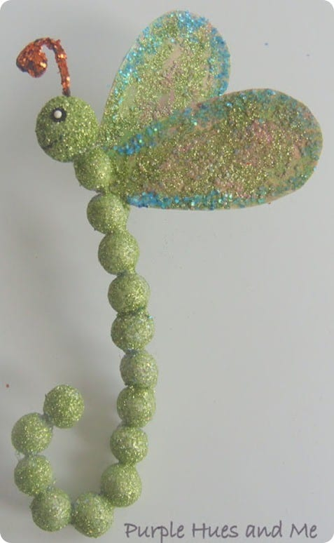 dragon fly easter ornament inspired by pier one