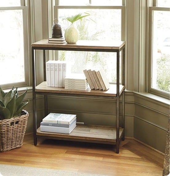durham short bookcase