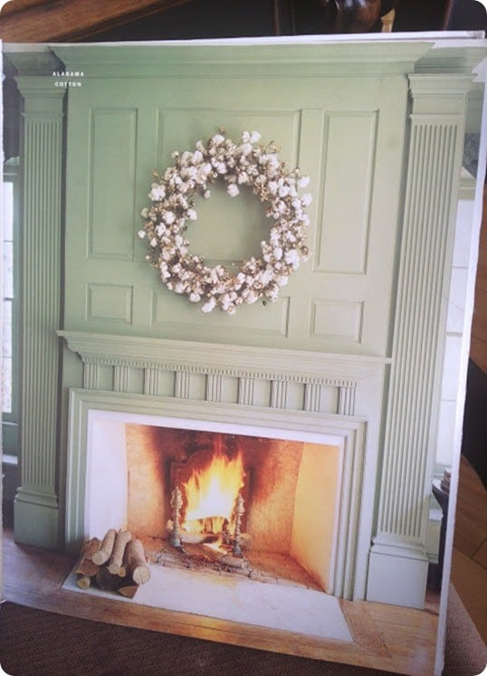 fireplace inspiration from Martha Stewart