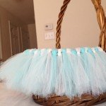 pb kids inspired tulle easter basket